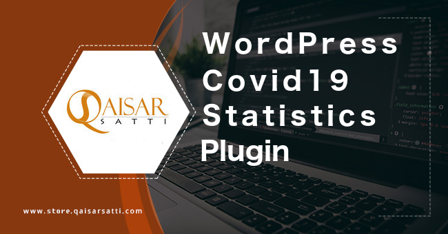 WordPress Covid19 statistic plugin
